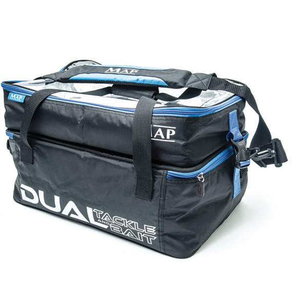 Dual Bait Tackle Bag Carryalls Luggage Fishing Tackle MAP