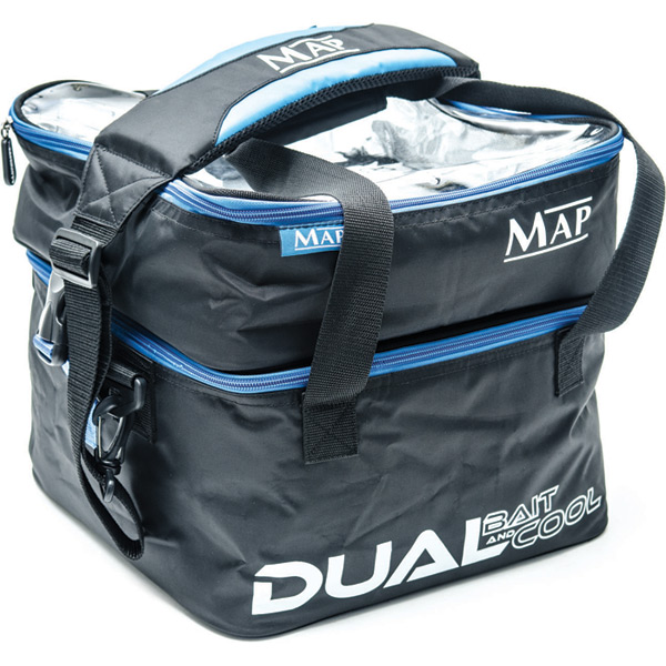 Dual Bait Cool Bag Carryalls Luggage Fishing Tackle MAP